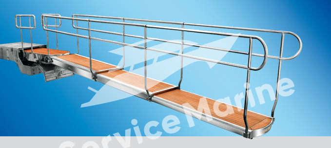 Telescopic stanchions