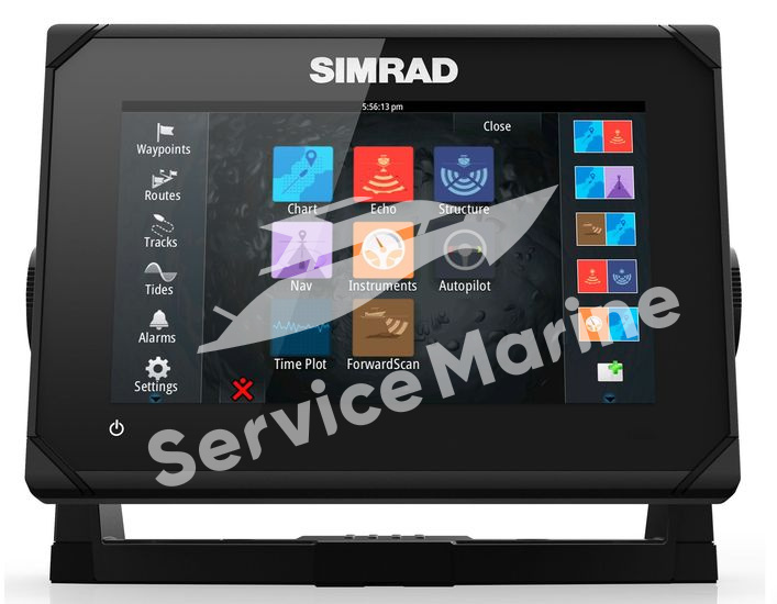 Картплоттер Simrad GO7 XSE ROW Totalscan
